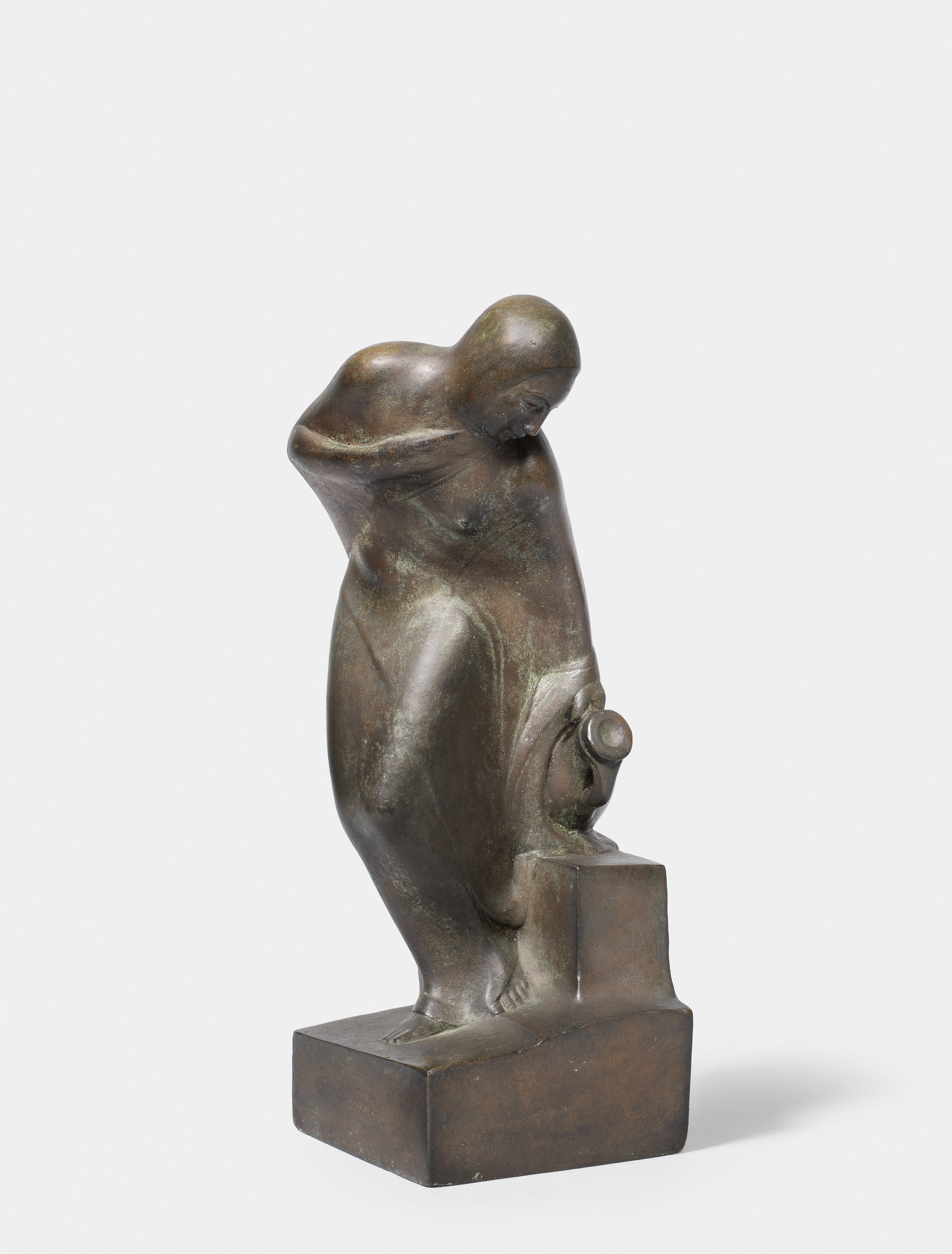 Mahmoud Mokhtar (Egypt, 1891-1934) On the Banks of the Nile