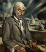 Mahmoud Said (Egypt, 1897-1964) Le Chômeur (The Vagabond)