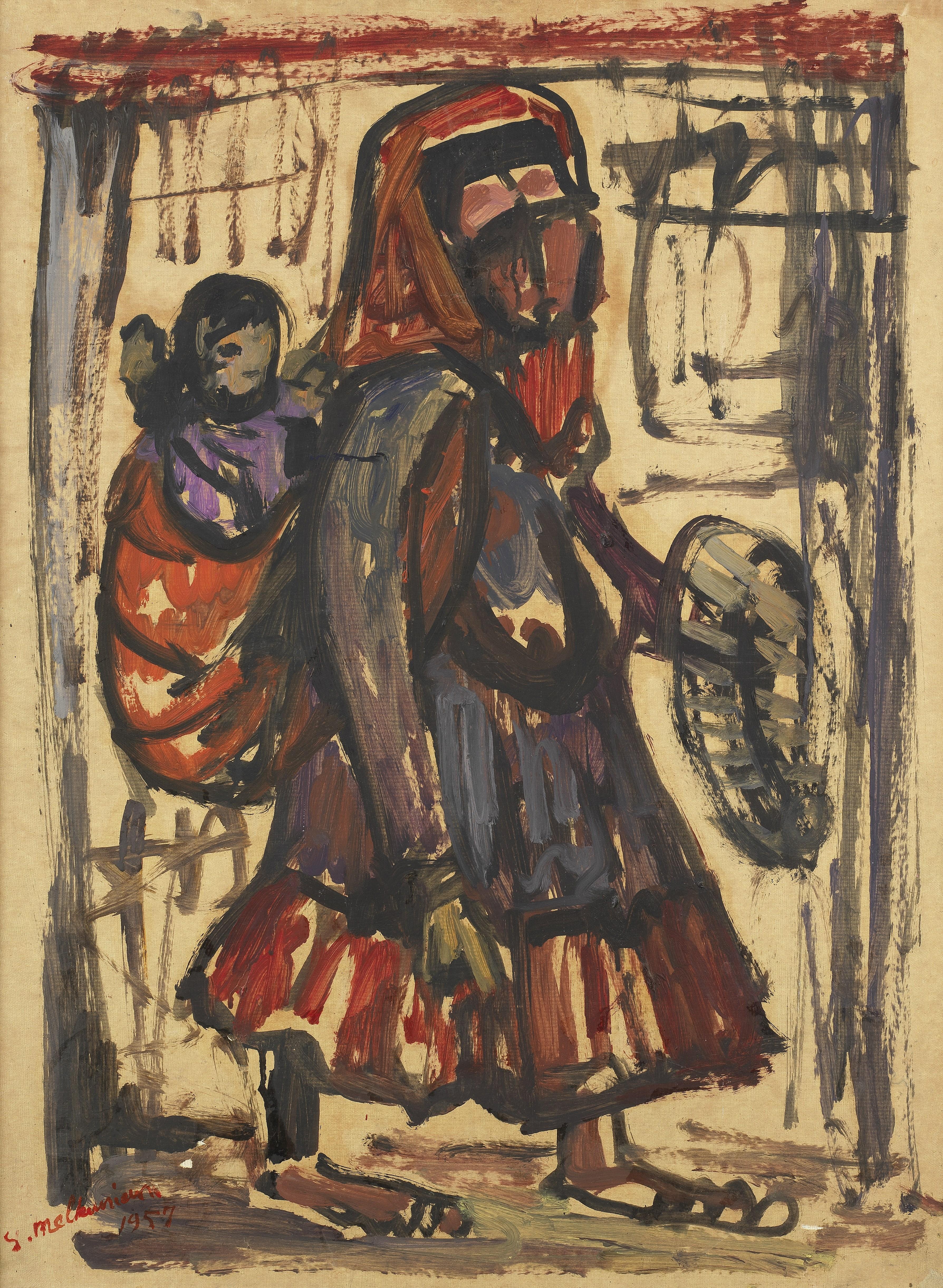 Sirak Melkonian (Iran, born 1931) Motherhood