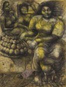 Galle Winston Kofi Dawson (Ghanaian, born 1940) Fruit Seller