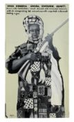 Kwame Akoto 'Almighty God' (Ghanaian, born 1950) 'Nana Kwabena Owusu' (1992)
