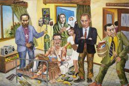 Joseph Bertiers (Kenyan, born 1963) Sympathy