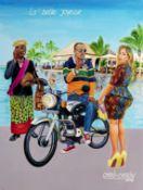 Cheri Cherin (Democratic Republic of Congo, born 1955) La belle Joyeuse