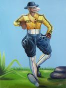 Camille-Pierre Pambu Bodo (Democratic Republic of Congo, 1953-2015) Gillet Jaune