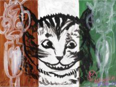 Aboudia Abdoulaye Diarrassouba (Ivorian, born 1983), and Christian Furr (British, 1966) Cheshire Cat