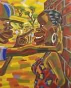 Lovemore Kambudzi (Zimbabwean, born 1978) Last Warning