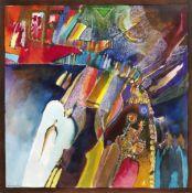 Ahmed Abushariaa (Sudanese, born 1960) Untitled