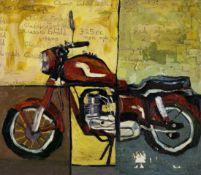 George (Kwesi Afedzi) Hughes (Ghanaian, born 1962) Motorbike (Enfield)