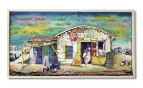Willie Bester (South African, born 1956) South African township