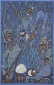 Twins Seven-Seven (Nigerian, 1944-2011) Oshogbo Deity