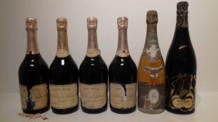 Taittinger Artist Collection, Arman 1981 (1) Louis Roederer Cristal 1986 (1) Billecart-Salmon Ros...