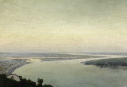 Iwan Trusz (Ukrainian, 1869-1941) View over the Dnieper