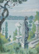 Mstislav Valerianovich Dobuzhinsky (Russian, 1875-1957) Statue