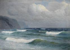 Filip Filipovich Klimenko (Russian, 1862 - after 1917) Seascape
