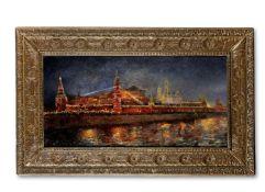 Nikolai Sergeevich Matveev (Russian, 1855-1939) Illumination of Kremlin during the Coronation of ...
