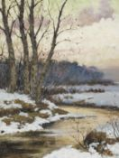 Andrei Afanasievich Jegorov (Russian, 1878-1954) The thaw