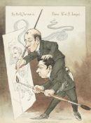 The Russian ballet in Legat's cartoons St. Petersburg: 1902-1905 (95)