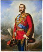 Nikolai Andreevich Lavrov (1820-1875) Portrait of Emperor Alexander II in the uniform of His Maje...