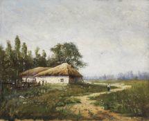 Nikolai Ivanovich Kravchenko (Russian, 1867-1941) A summer's day