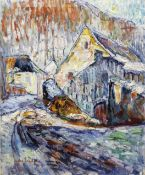 Sacha Finkelstein (Russian, 1878-1919) Winter Impression