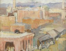 Alexandre Roubtzoff (Russian, 1884-1949) Tunis