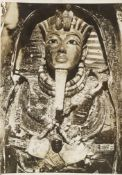 A collection of 14 photographs relating to the opening of the Tomb of Tutankhamun, 1922-1923, by ...