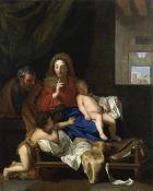 Studio of Charles Lebrun (Paris 1619-1690) The Holy Family unframed