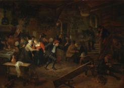 Jan Steen (Leiden 1626-1679) A wedding feast