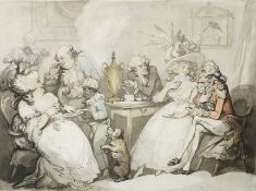 Thomas Rowlandson (London 1756-1827) Tea on shore