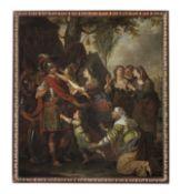 Attributed to Jan Erasmus Quellinus (Antwerp 1634-1715 Malines) Volumnia before Coriolanus