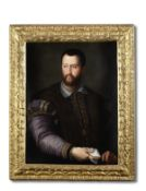 Attributed to Alessandro di Cristofano Allori (Florence 1535-1607) Portrait of Cosimo I de Medici...