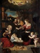 Circle of Cornelis van Cleve (Antwerp 1520-1569) The Nativity