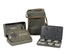 A Hagelin CX52 cipher machine, French, 1950's,