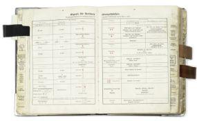 A rare KRIEGSMARINE signal book, German, 1940,