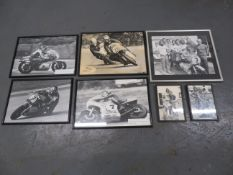A quantity of black and white photographs ((Qty))