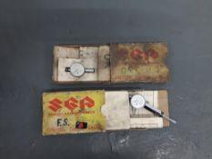 Two Suzuki ignition gauges ((2))