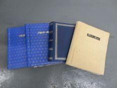 Five photograph albums ((4))