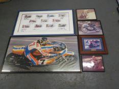 A quantity of coloured photographs ((Qty))