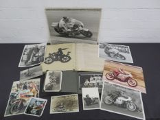 Offered from the estate of the late Percy Tait A large quantity of photographs and photograph al...