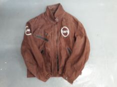 A Dainese 'Ten' leather jacket