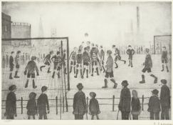 Laurence Stephen Lowry R.A. (British, 1887-1976) The Football Match Offset lithograph, on wove, s...
