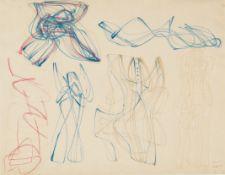 Stanley William Hayter (British, 1901-1988) Untitled Ballpoint and felt-tip pen, 1950, on wove, ...