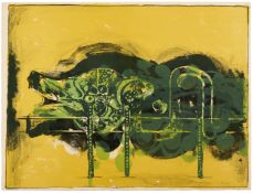 Graham Sutherland O.M. (British, 1903-1980) Submerged Form Lithograph printed in colours, 1968, o...