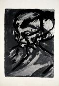 Frank Auerbach (British, born 1931) Head of G.B. Screenprint in colours, 1967, on wove, signed an...