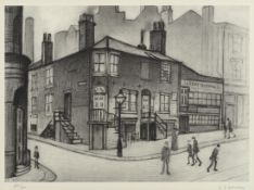 Laurence Stephen Lowry R.A. (British, 1887-1976) Great Ancoats Street Offset lithograph, on laid,...