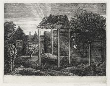Graham Sutherland O.M. (British, 1903-1980) May Green Etching, 1927, on laid, signed in pencil, ...