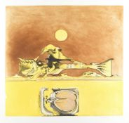 Graham Sutherland O.M. (British, 1903-1980) Form in a Desert Etching and aquatint printed in colo...