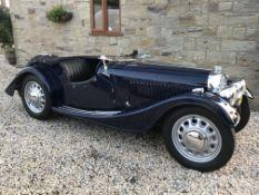 1938 Morgan 4/4 Series 1 Roadster Chassis no. 551