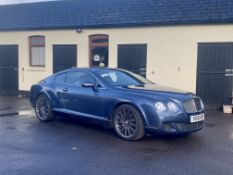 2010 Bentley Continental GT Speed Coupé Chassis no. SCBCFE3109AC066435