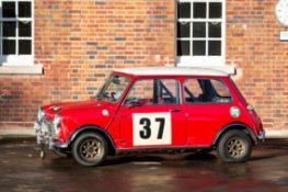 1969 Morris Mini Cooper MKII Chassis no. KA256-1263891A